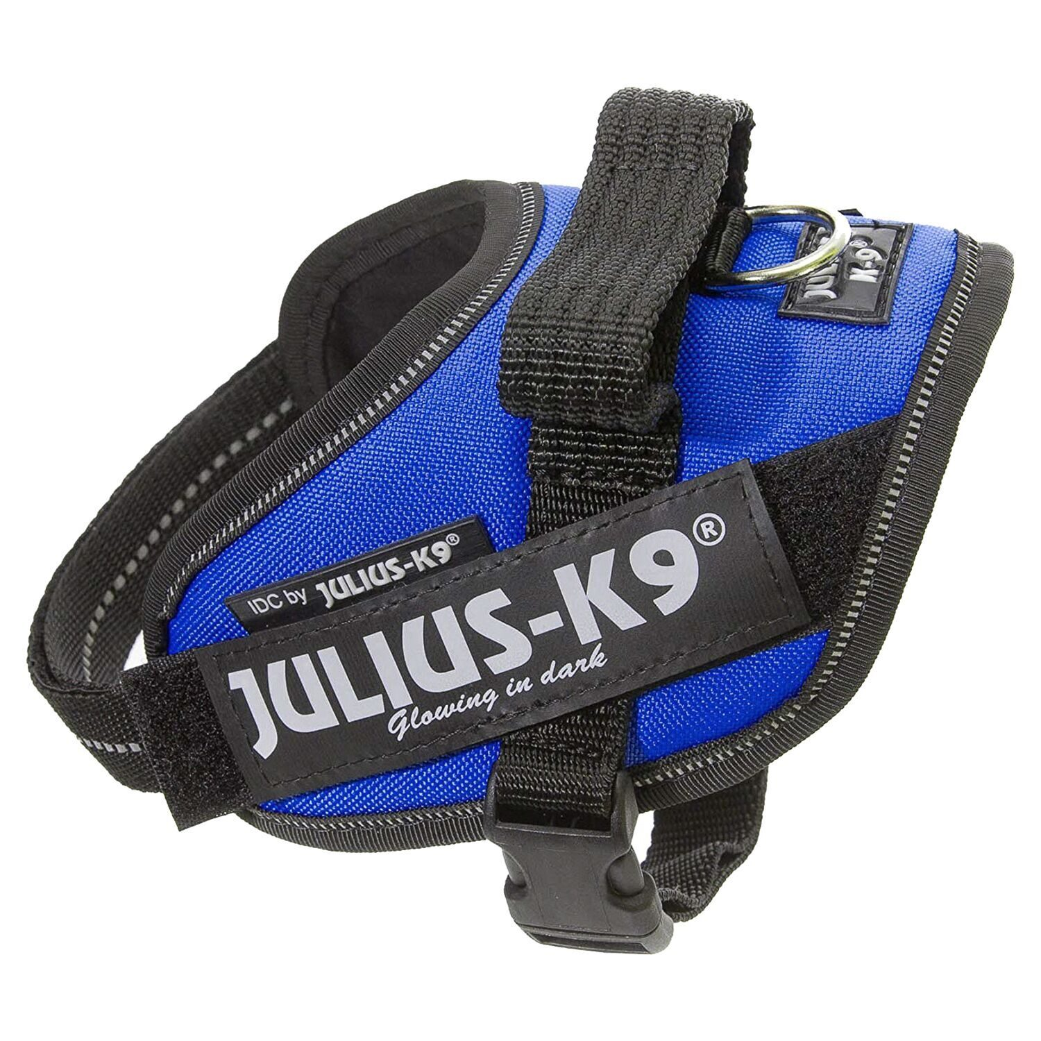 JULIUS-K9 шлейка для собак IDC-Powerharness Mini (49-67см 7-15кг), синий 3