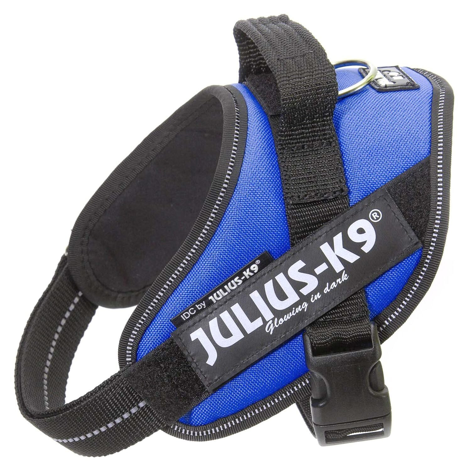 JULIUS-K9 шлейка для собак IDC-Powerharness Mini (49-67см/ 7-15кг), синий
