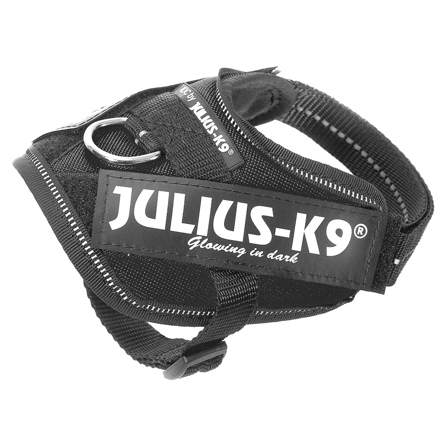 JULIUS-K9 шлейка для собак IDC-Powerharness 1 (63-85см/ 23-30кг), черный